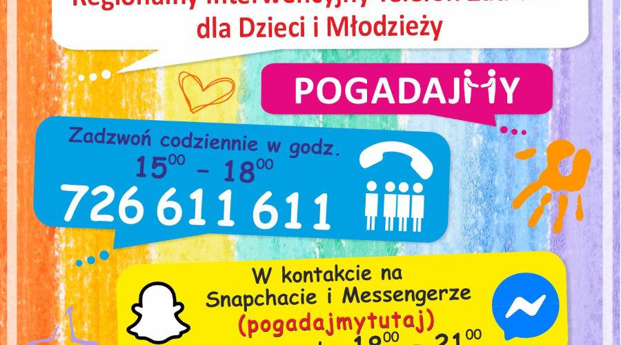 Regionalny Interwencyjny Telefon Zaufania dla Dzieci i Młodzieży